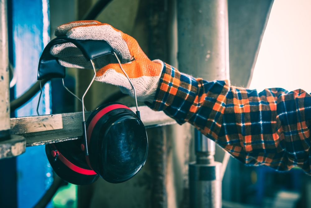 69cc53571c7 Too much noise at work can lead to temporary or permanent hearing loss, or  tinnitus – ringing in the ears.